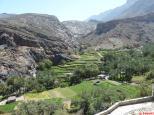 jusqu'au beau village de Bilad Sayt à la belle palmeraie